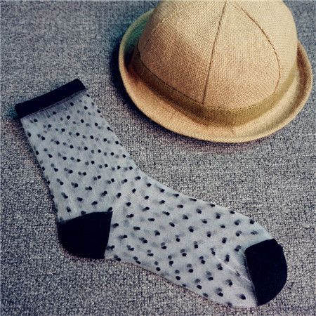in Hot socks girls silk