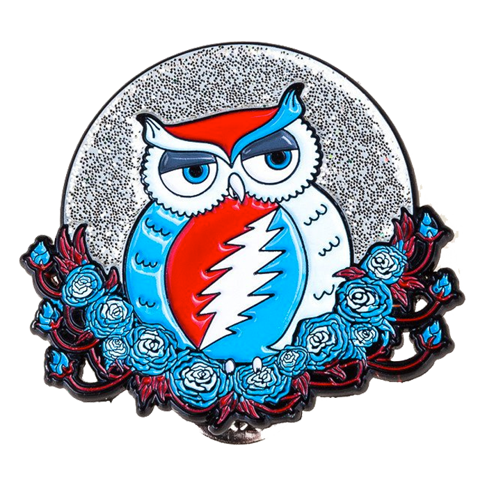 Grateful Dead Owl Pins Grateful Dead Tattoo Grateful Dead Grateful Dead Merchandise