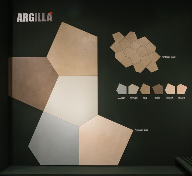 Argilla Gigacer Abstract Artwork Mosaic Flooring