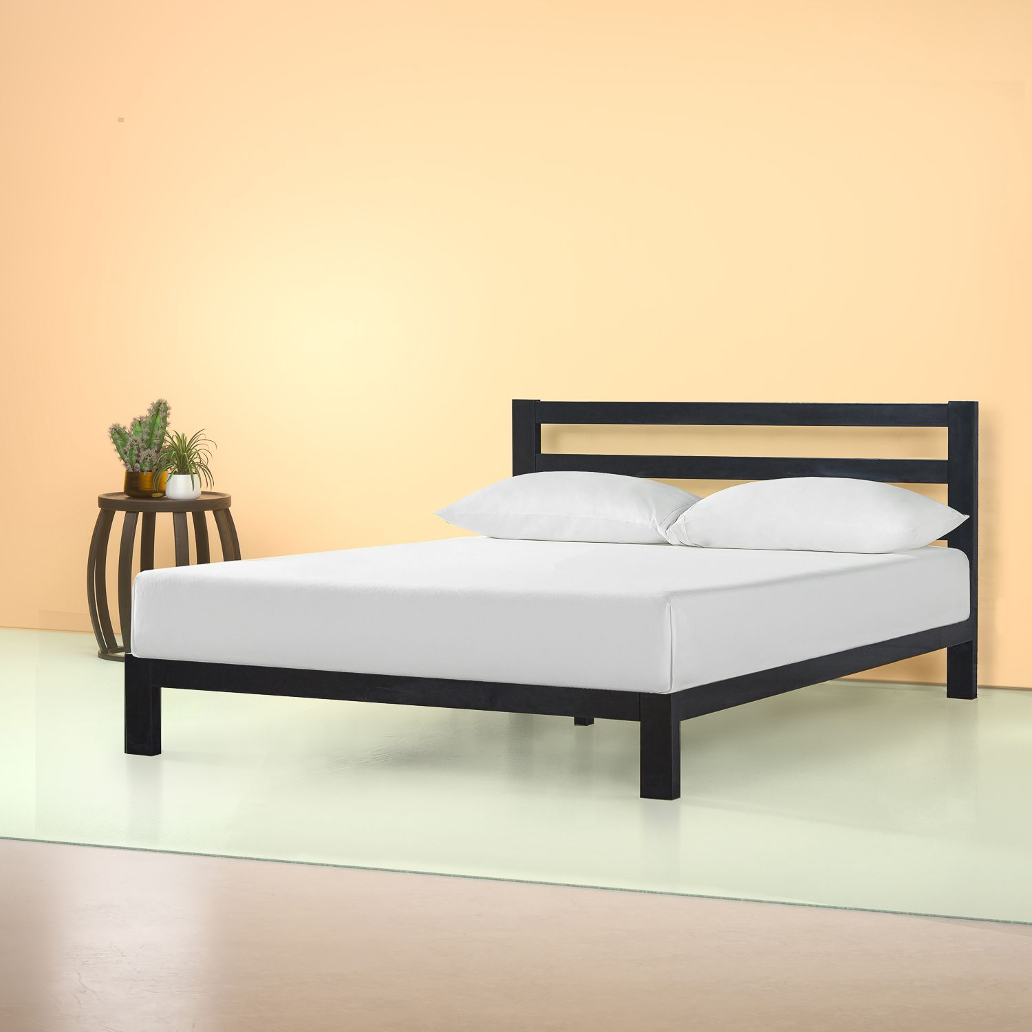 Pin By Cansitong On Metal Platform Bed In 2020 Metal Platform Bed Headboards For Beds Platform Bed