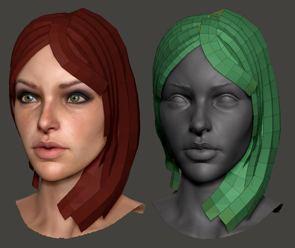 JnasconeArt : Zbrush IMM Hair strip brush What Are You Working On? 2013 Edition - Page 534 - Polycount Forum