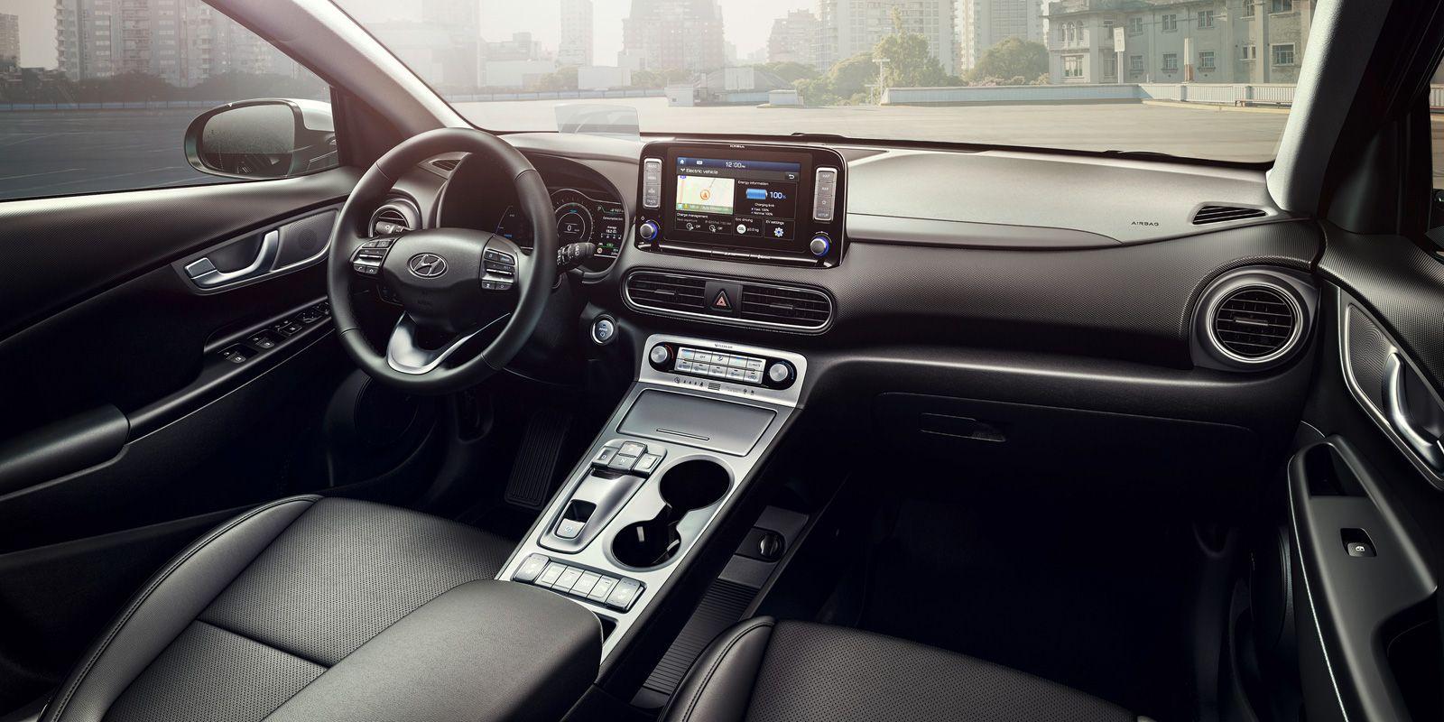 Hyundai S Kona Electric Suv Boasts A 292 Mile Range Elektromobil Dvigatel