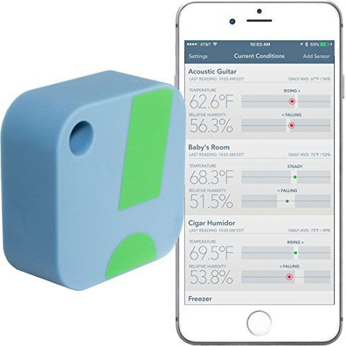 SensorPush Wireless Thermometer / Hygrometer for iPhone