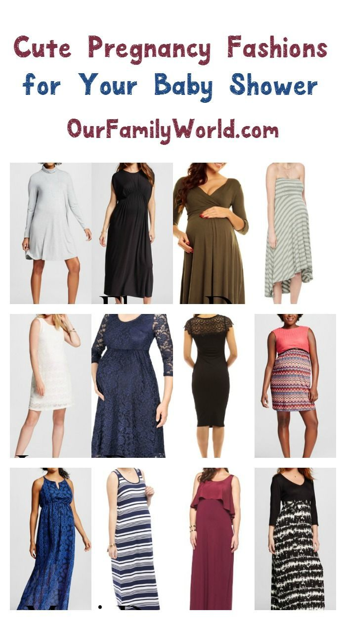 Cute pregnancy clothes to wear for your baby shower pregnancy dress up in cute pregnancy clothes for your baby shower with our picks for the best maternity fashion for parties check out these 12 dresses ombrellifo Images
