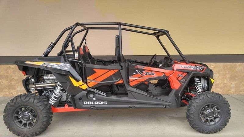 New 2017 Polaris RZR XP 4 Turbo EPS Cruiser Black ATVs For