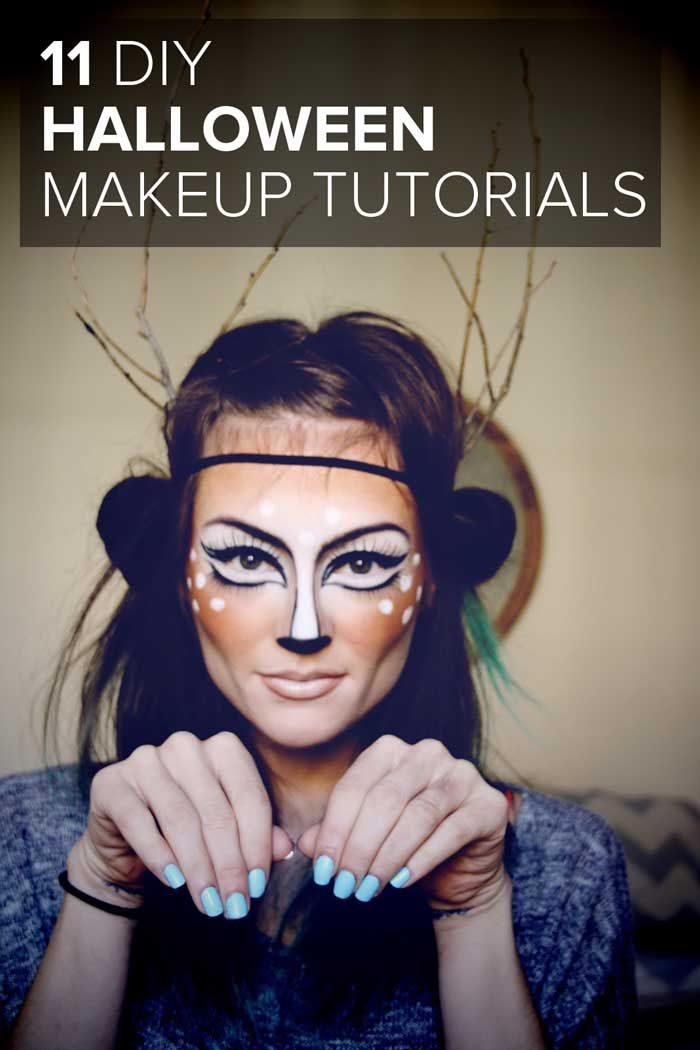 11 DIY Halloween Makeup Ideas | Diy halloween makeup, DIY ...