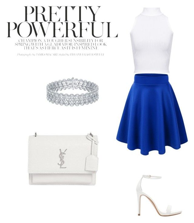 Pretty powerful by anay05 on Polyvore featuring WearAll, Zara and Yves Saint Laurent