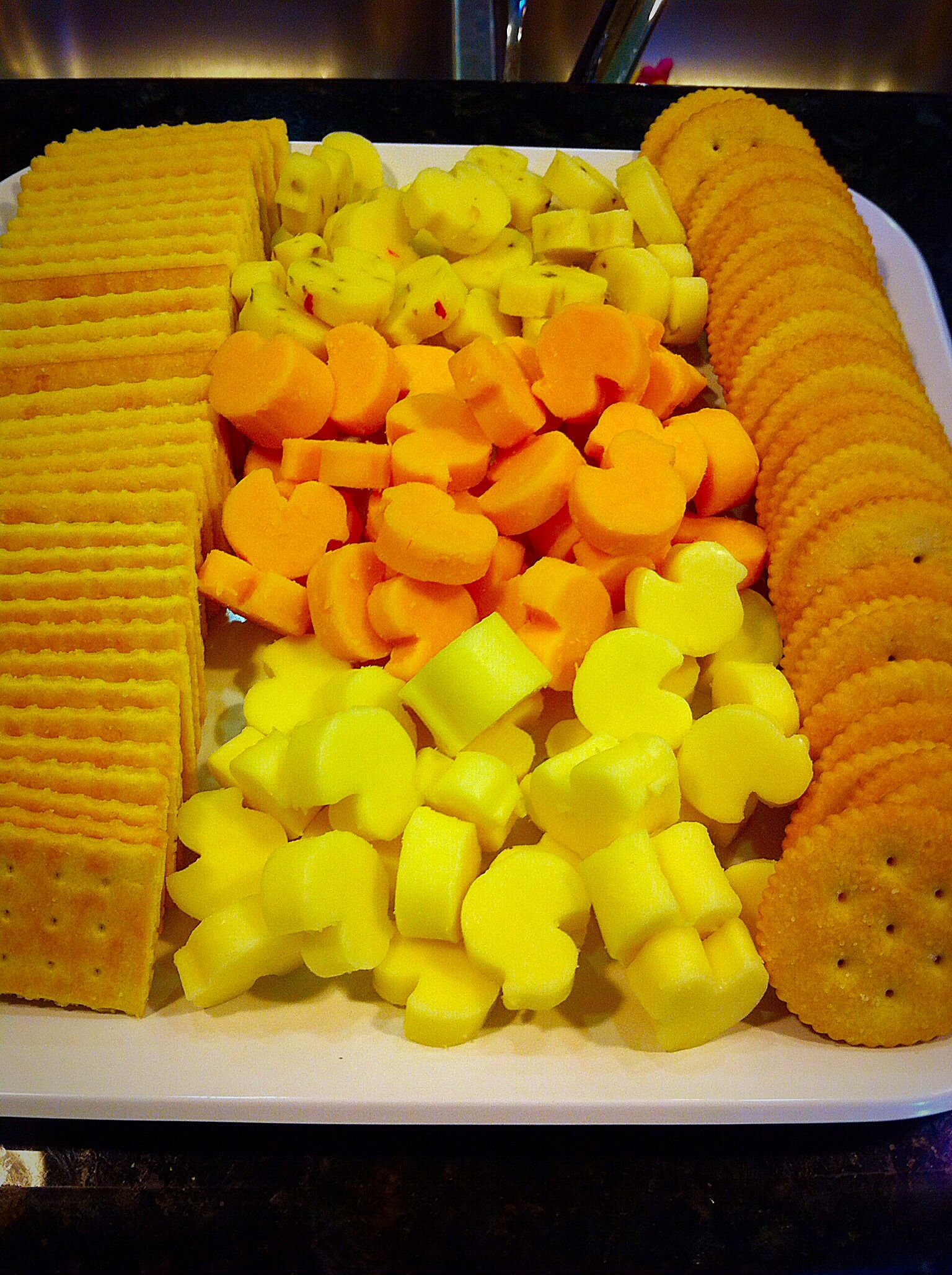 """Mini Duck Cheese Tray  