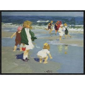 Kiddies Framed Canvas Print ($115)