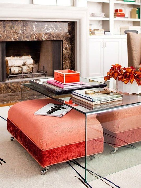Decorating Strategy How To Use Small Furniture As Your Final Layer Coffee Table Small Space Coffee Table Storage Ottoman Coffee Table