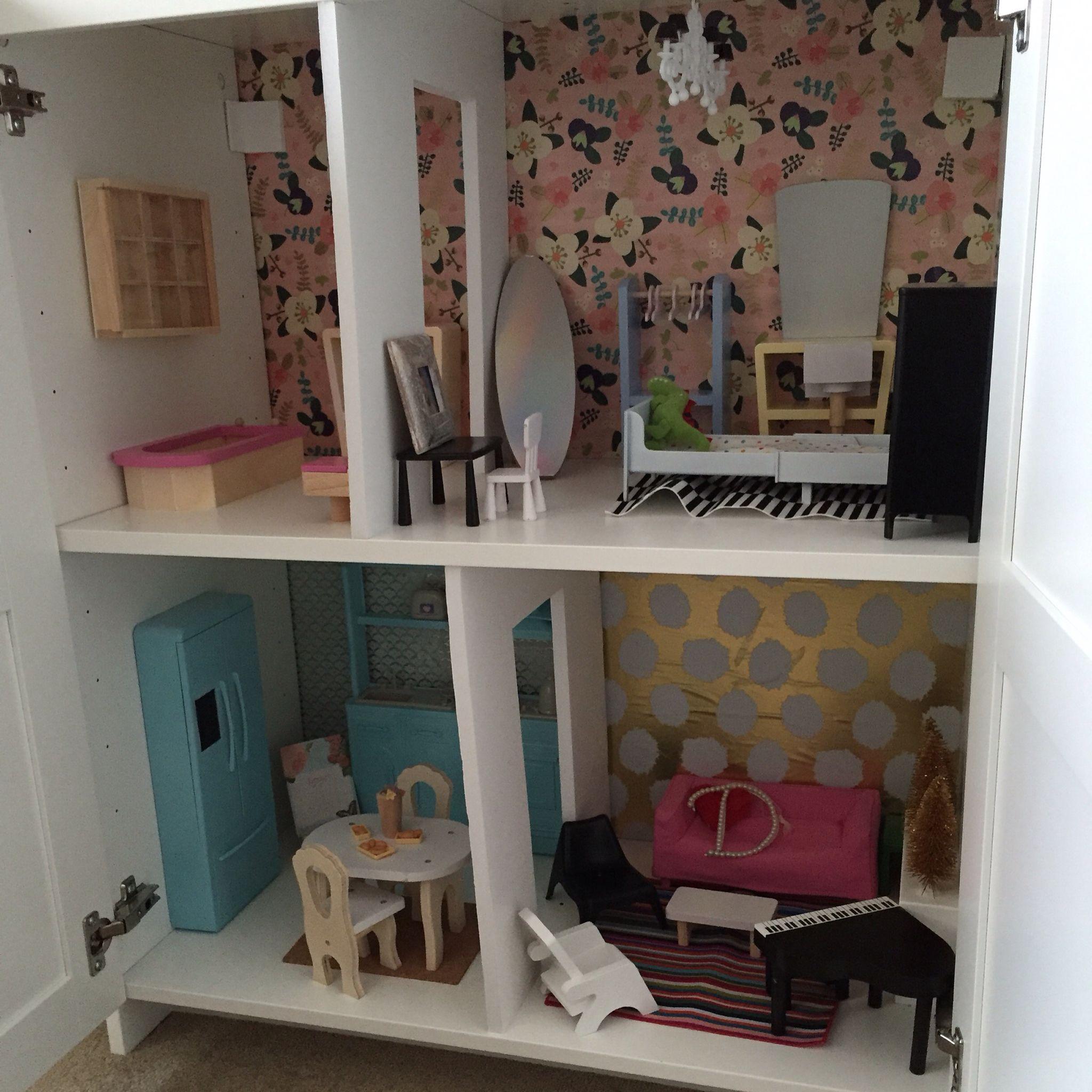 ikea dolls house furniture. Barbie House DIY- IKEA BRIMNES CABINET, Foam Board Dividers,IKEA Doll Furniture Ikea Dolls O