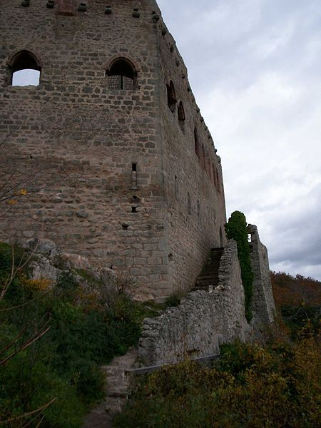 château de l'Ortenbourg. Alsace