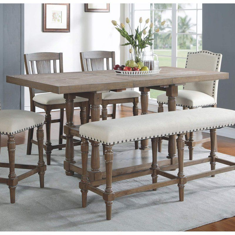 Winners Only Xcalibur Tall Dining Table  Dxt13678  Products Impressive Tall Dining Room Sets Design Ideas