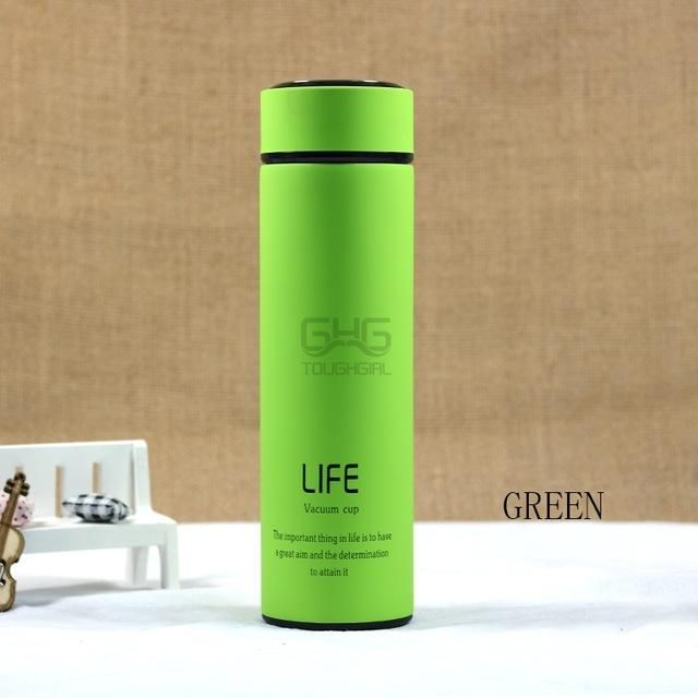 500ML High Quality Stainless Steel Vacuum Flask Thermal Cup Coffee ...