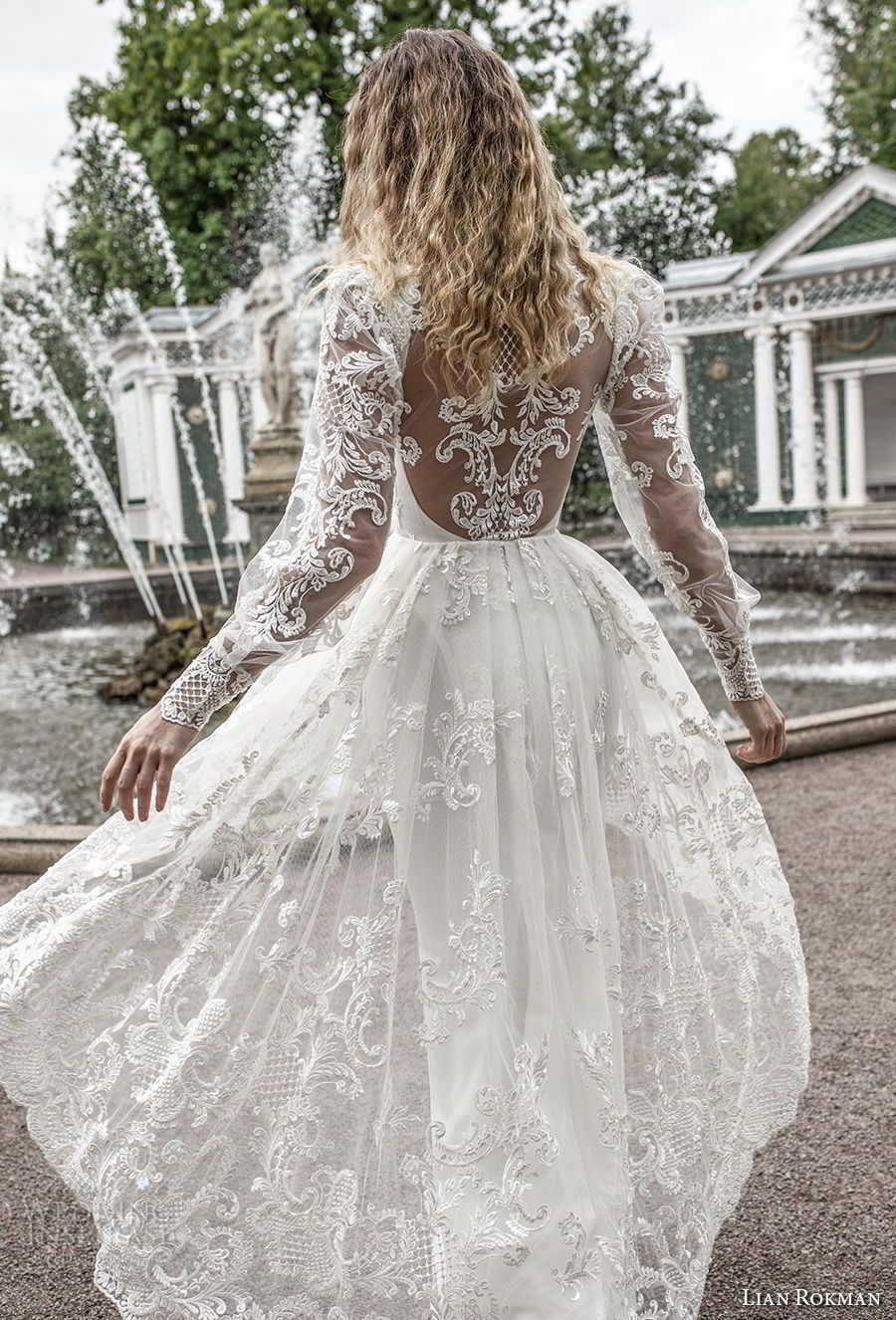 Lian rokman wedding dresses u ucstardustud bridal collection