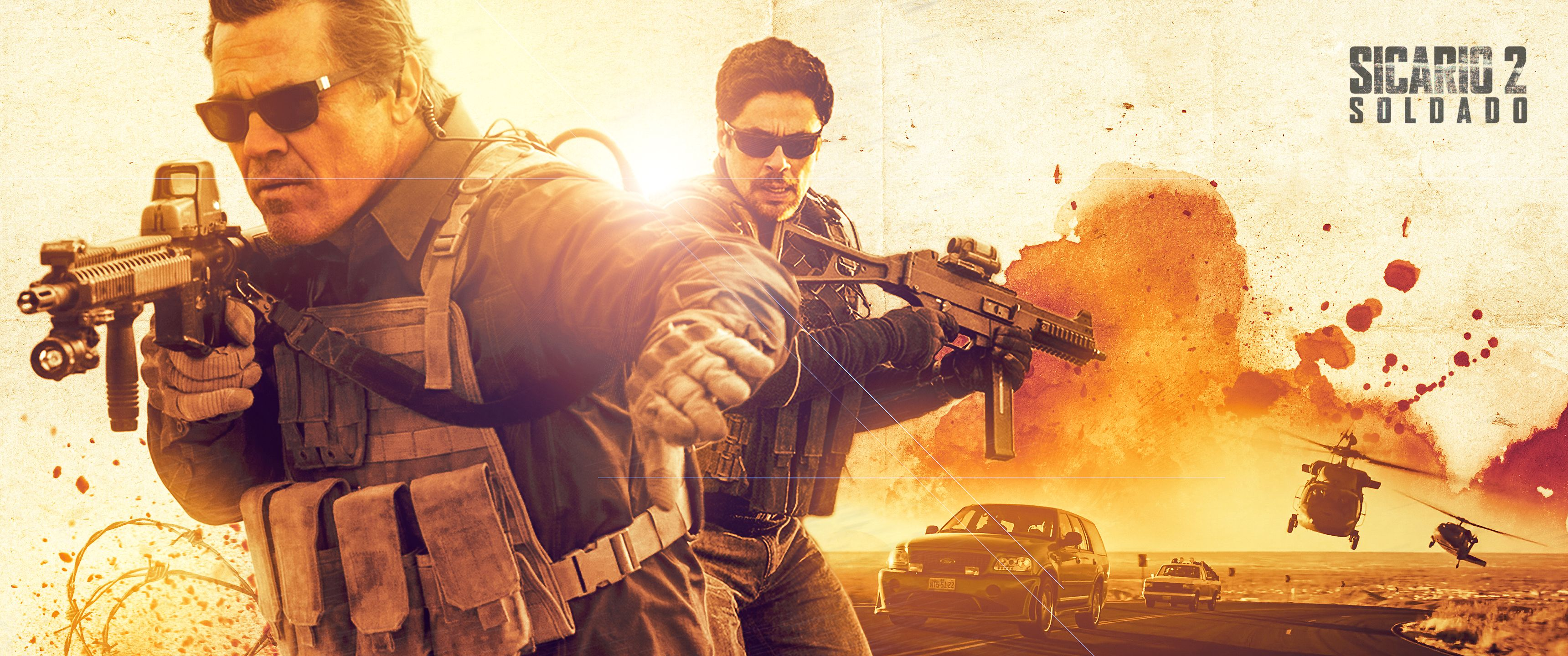 Sicario day of the soldado ultrawide wallpaper movie - Sicario wallpaper ...