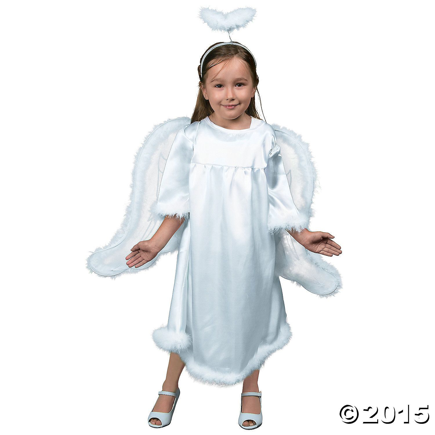 Toddler Girlu0027s Angel Costume  sc 1 st  Pinterest : play costumes for toddlers  - Germanpascual.Com