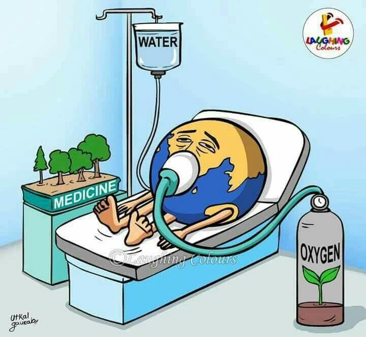 Miren Lo Que Pasa Medio Ambiente Dibujo Destruccion Del Medio Ambiente Imagenes Del Medio Ambiente