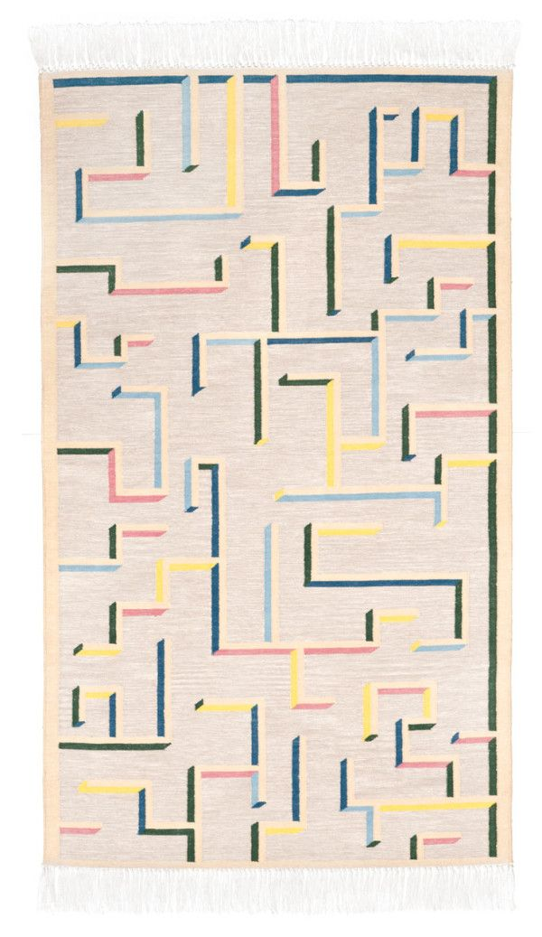 Swedish Rug Designs from Oyyo - Labyrinth
