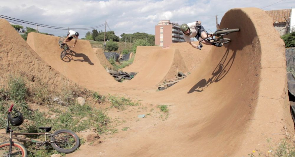 Lost Trails Mataro Taco Line Bmx Dirt Dirt Jumper Trail