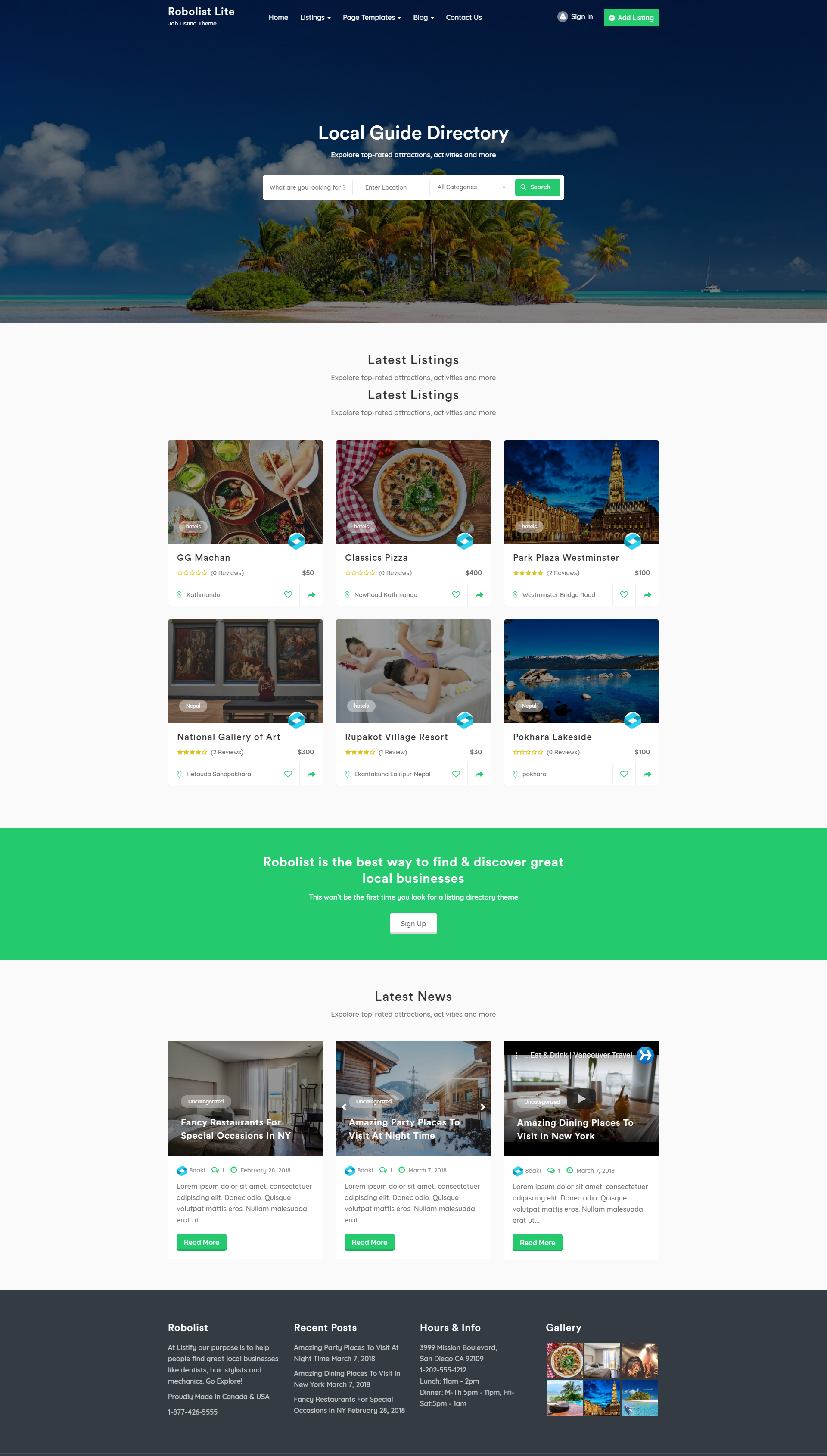 Download Robolist Lite Free Wordpress Theme Free Wordpress Themes Wordpress Theme Wordpress