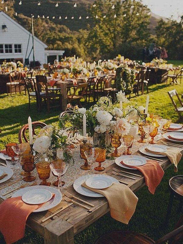 20 vintage sunset orange wedding color ideas for 2019 wedding rh pinterest com