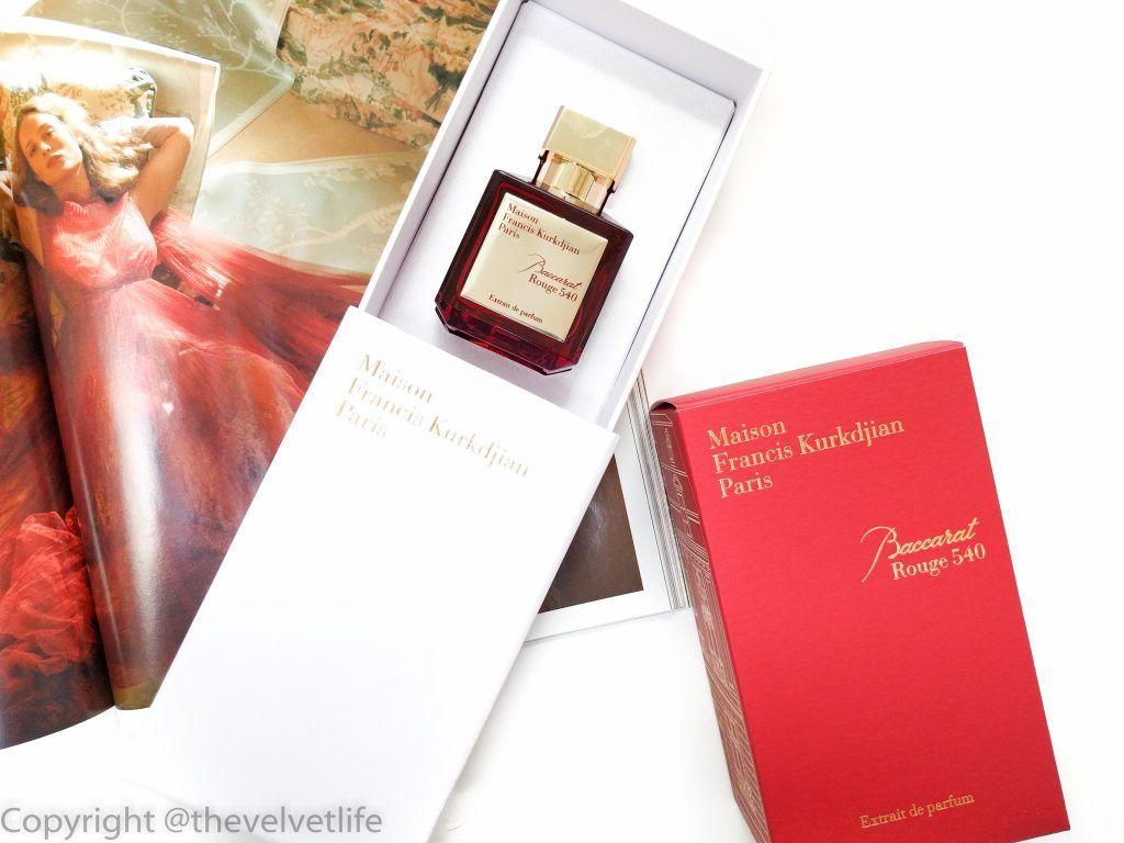 Baccarat Rouge 540 Extrait De Parfum Maison Francis Kurkdjian