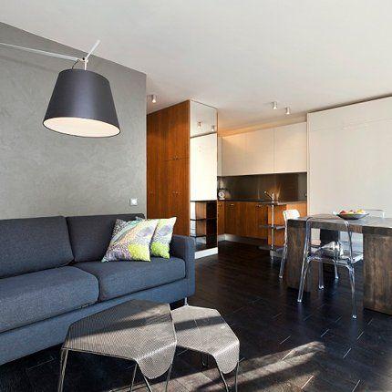 Un appartement de 33 m2 aux rangements dissimulés Furniture decor - rangement salle a manger