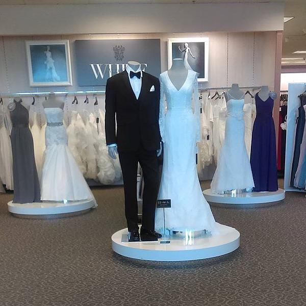 White by Vera Wang Long Sleeve Lace Wedding Dress - Davids Bridal