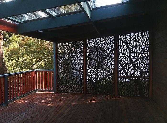 Paneles decorativos y para privacidad qaq screens http - Paneles decorativos para exterior ...