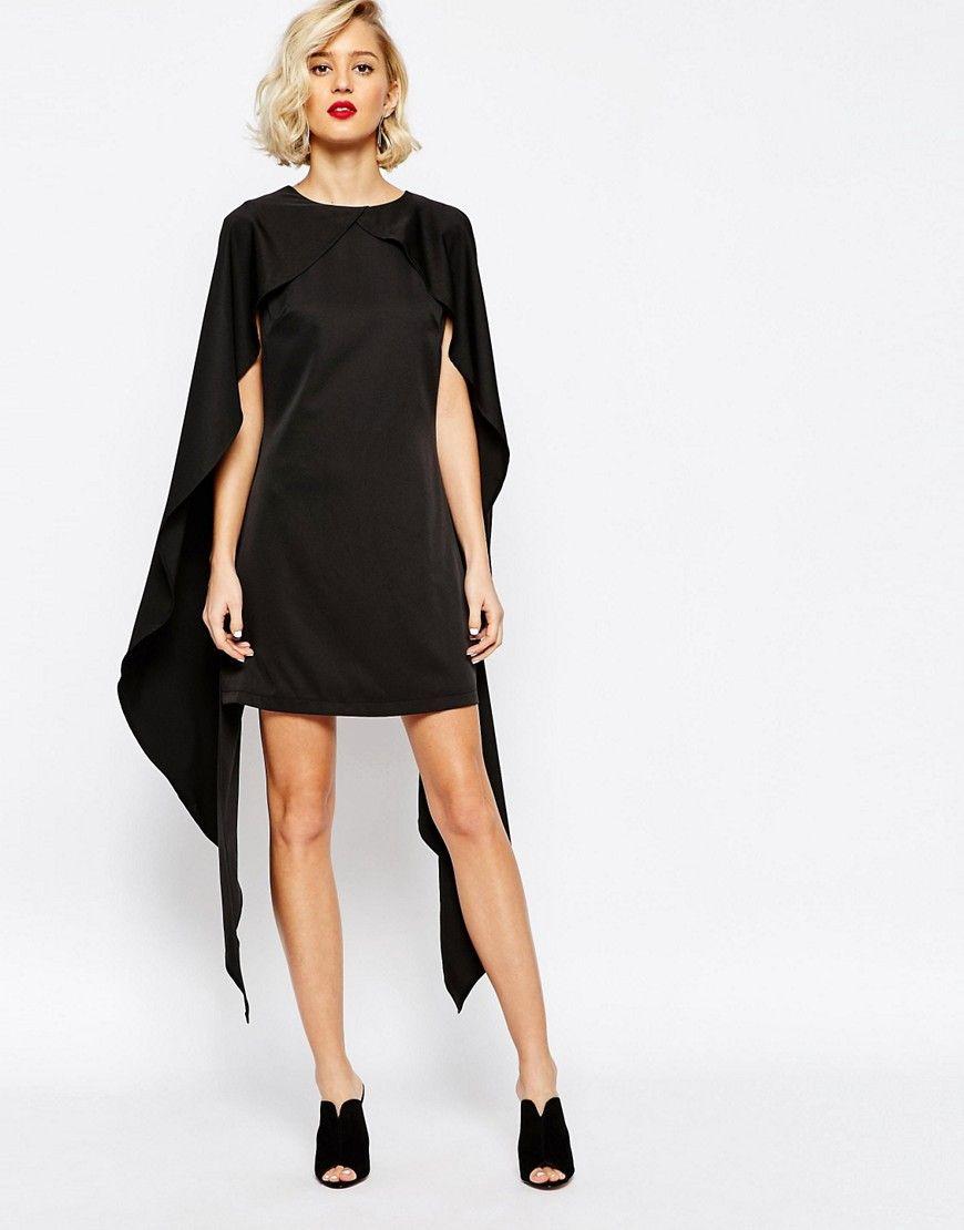 Bild 1 von Lavish Alice – Etuikleid mit Cape-Lage | Fashion ...