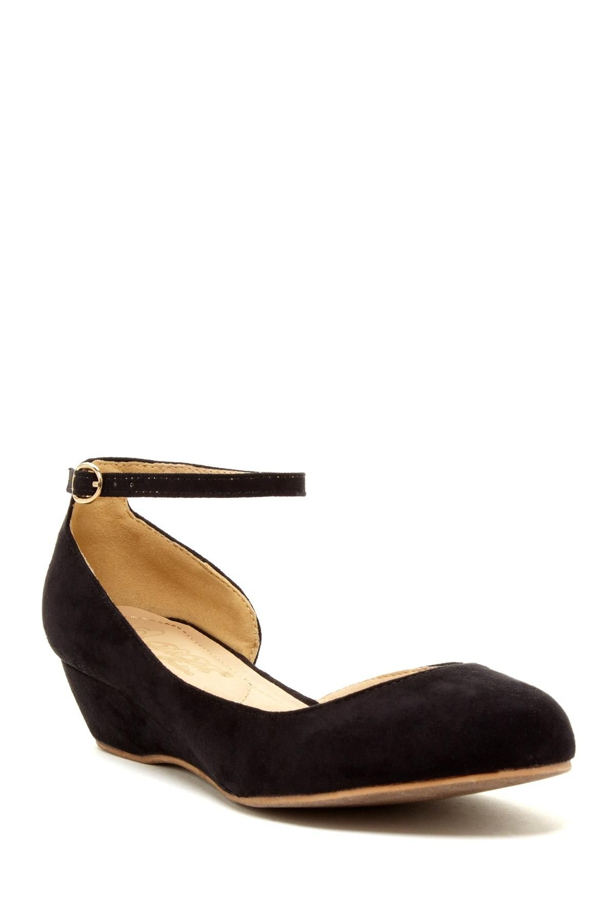 78fad4118 Cisanni Half d-Orsay Wedge on HauteLook Cute Flats