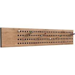 Garderobe Scoreboard We Do Wood, Designer Sebastian Jorgensen, 18x100x2 cm We Do WoodWe Do Wood
