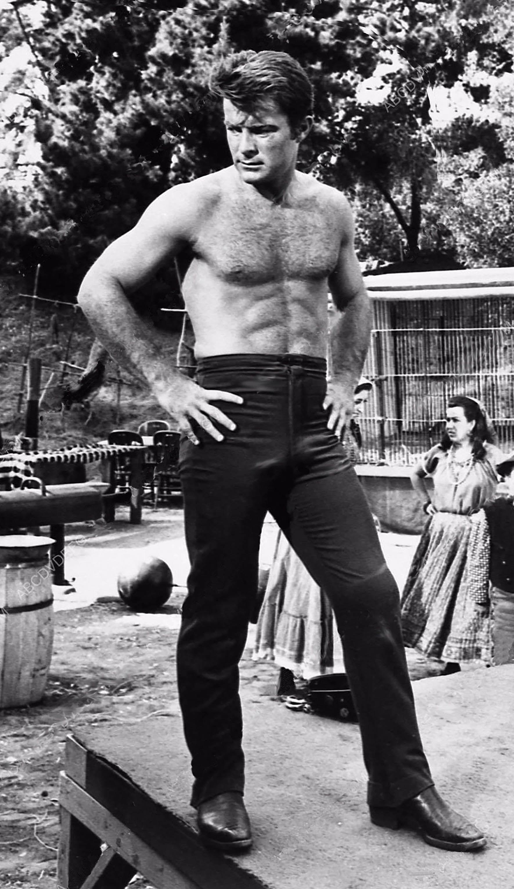 Clint Walker Cheyenne Bodie Handsome Cowboy TV Movie Hunk