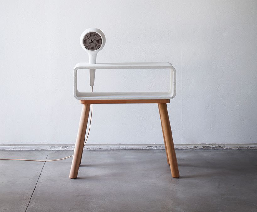 hand-crafted marble and wood furniture systems for the smart home ...