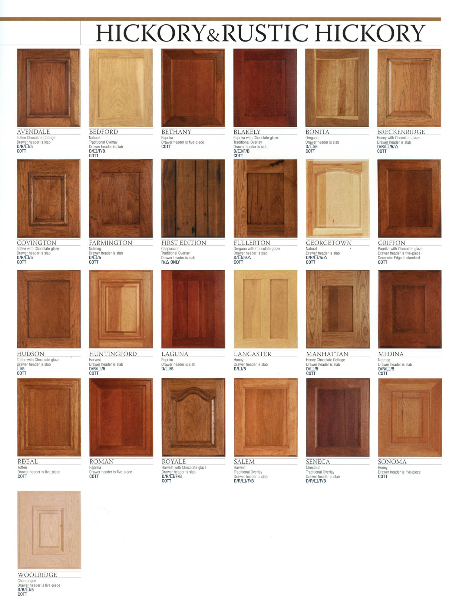 Hickory Cabinets Click On Image To Enlarge Hickory Cabinets Hickory Kitchen Building Kitchen Cabinets