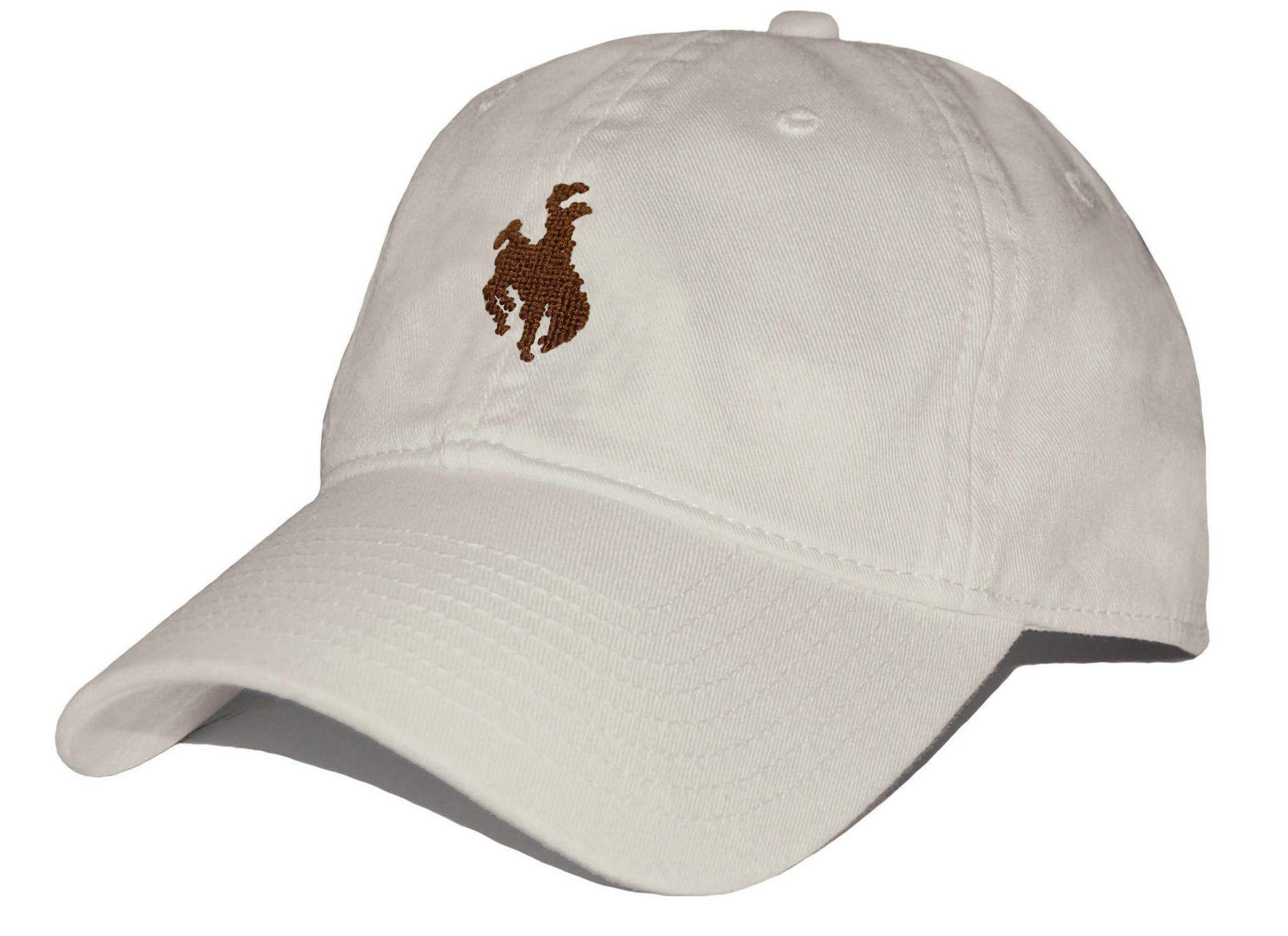 77aae2b8 Bucking Bronco Needlepoint Hat in Stone by Smathers & Branson Usa Flag,  Seersucker, Stone