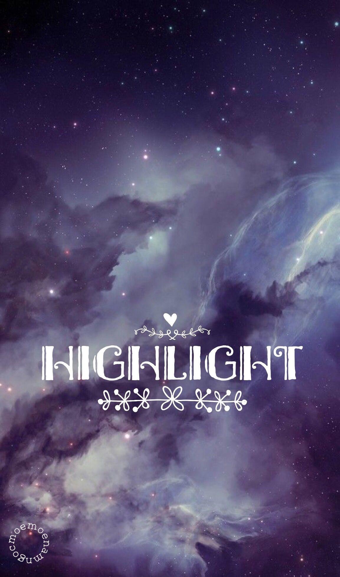 Hightlight Kpop Iphone Wallpaper