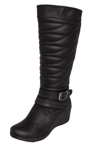 486ef57e8 Bota Piccadilly Preta | Botas | Boots, Riding Boots e Shoes