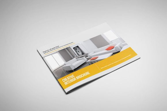 Interior Landscape Brochure By Riverpixels Studio On Creative Market