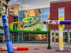 the crayola experience pennsylvania pa travel information