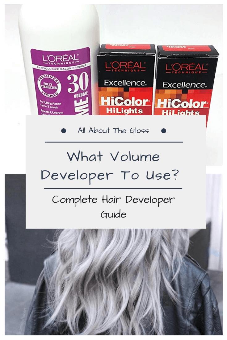 Hair Developer Guide What Does Hair Developer Do Hair Color Developer Dyed Red Hair Bleaching Your Hair