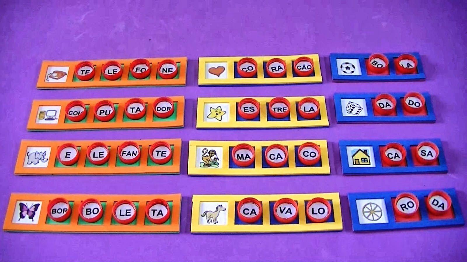 Populares jogos de alfabetização confeccionados - Pesquisa Google | Dự án  GI72