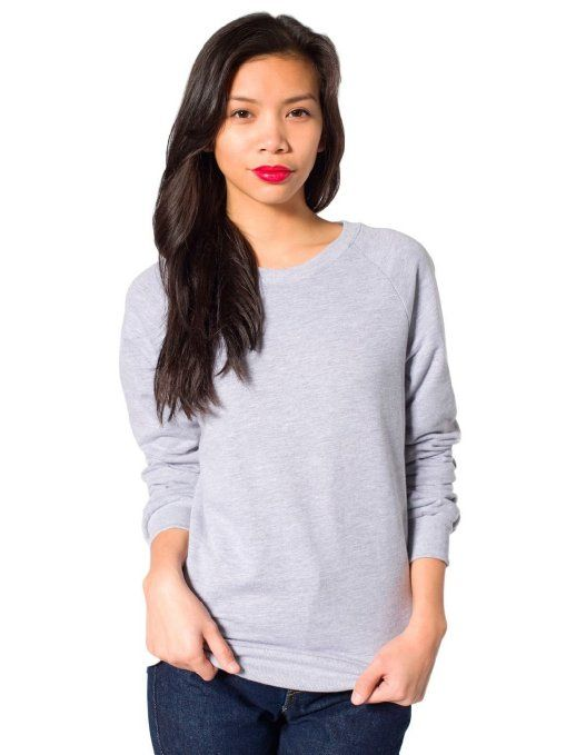 750076169 American Apparel Unisex California Fleece Raglan | My Style ...