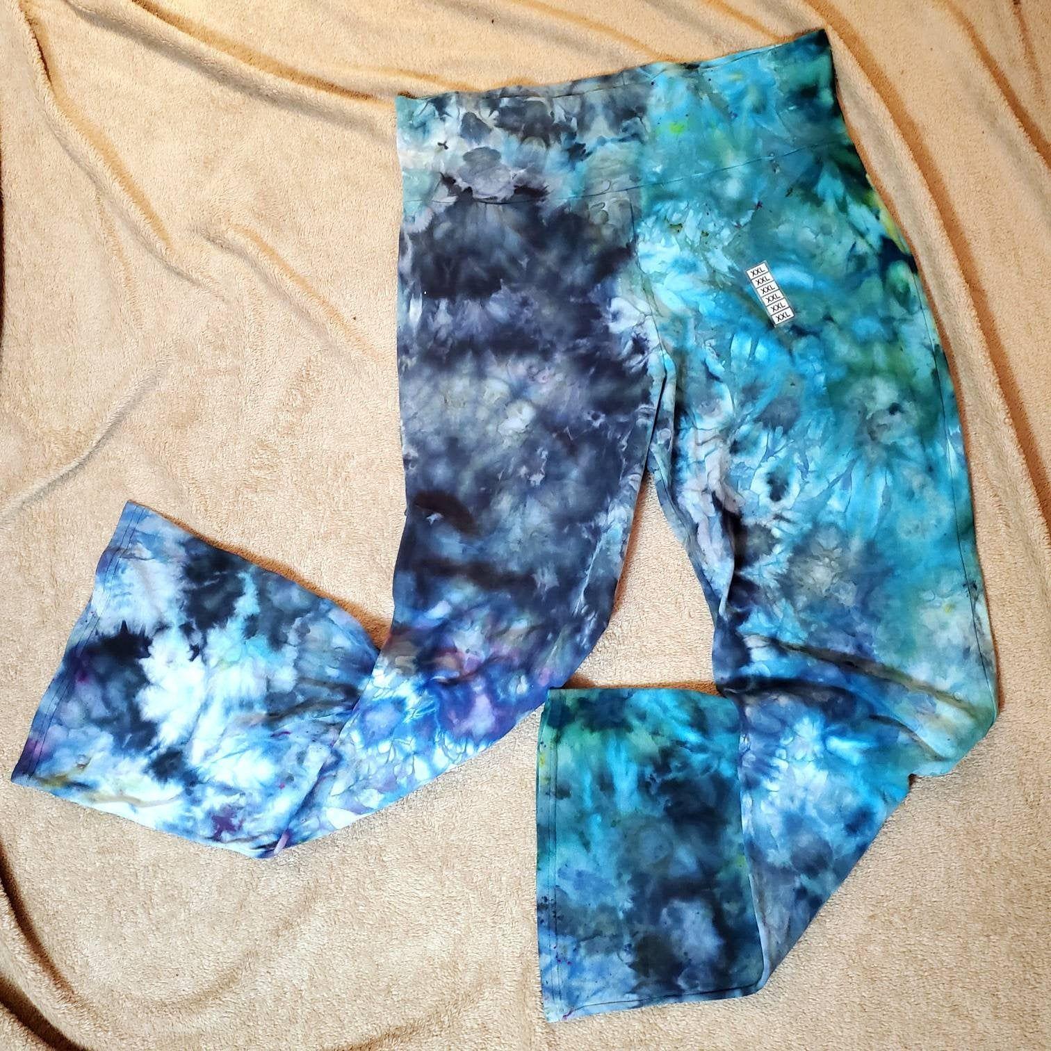 Tie Dye Yoga Pants 2XL