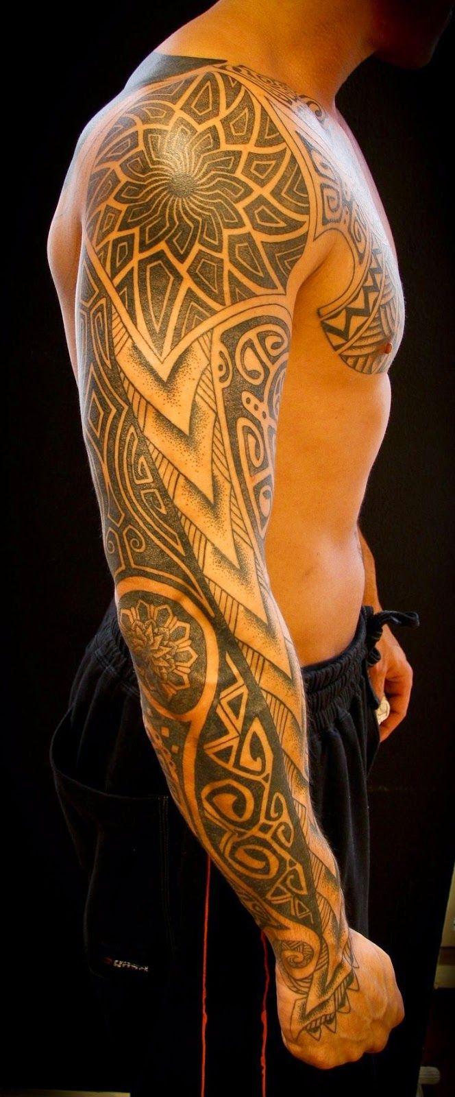 Tattoo ideas for men on arm sleeve tattoos awesome sleeve tattoos  tattoo designs  pinterest