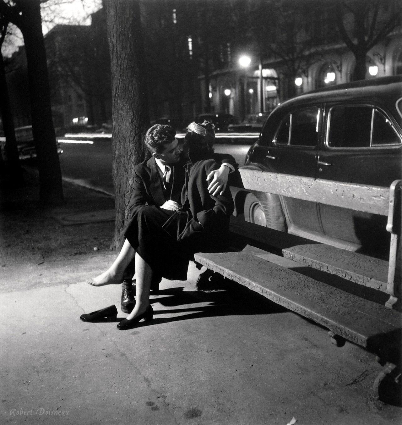 Trig & Polished Approved // Promoting Good Men's Style // www.trigandpolished.com Robert Doisneau Paris 1950s