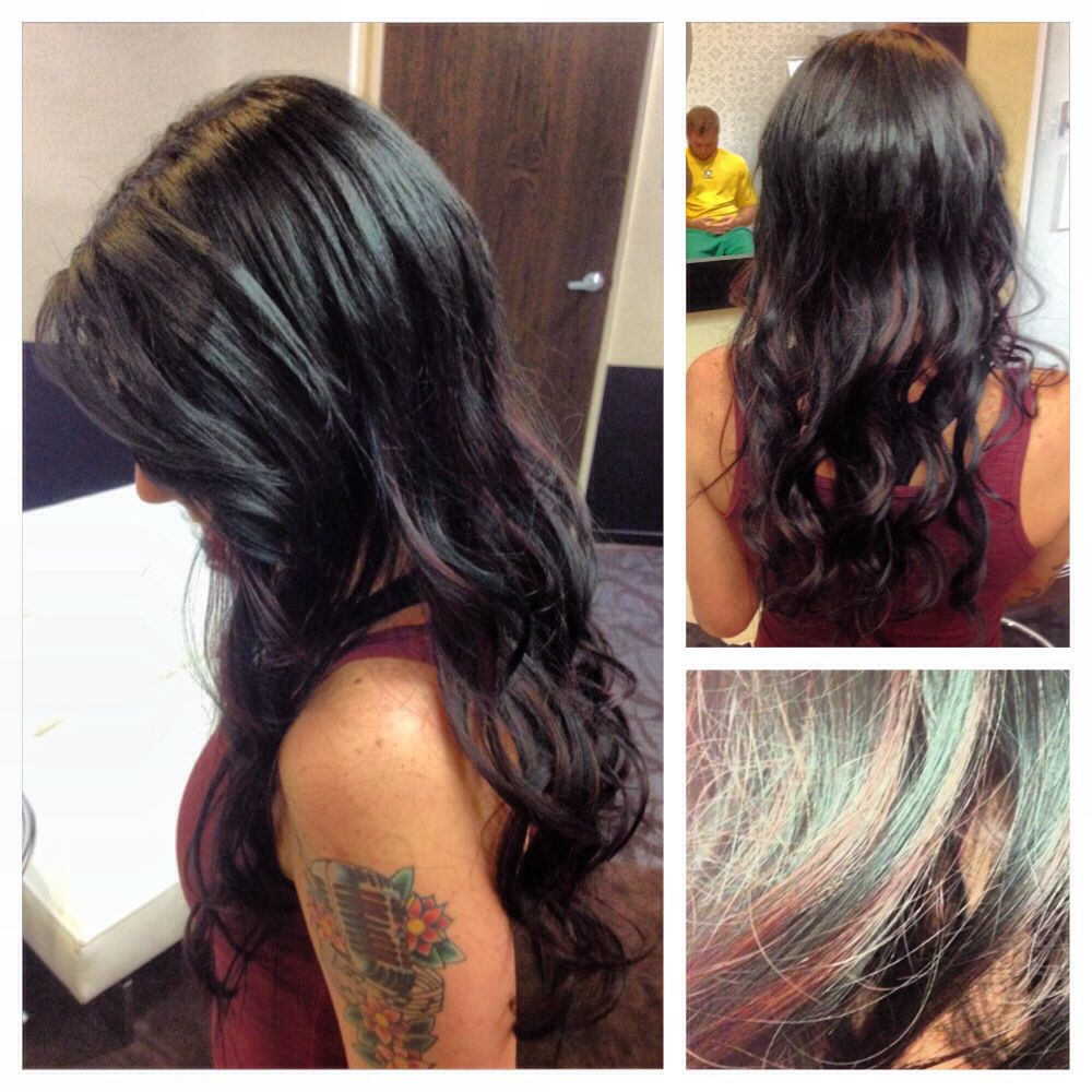 Glue In Hair Extensions On Short Graduation By Nslh Hair By
