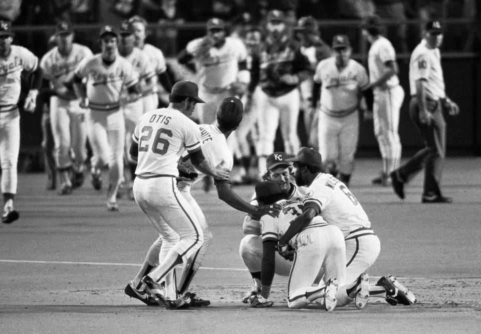 The Royals Win Game 2 Of 1980 ALCS Against New York Yankees By A