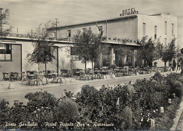 Porto Garibaldi, Piccolo Bar. | Ferrara (e provincia) in cartolina ...